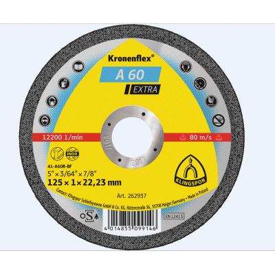 Klingspor Extra Inox Slitting Disc A60  115 x 1.0 x 22mm