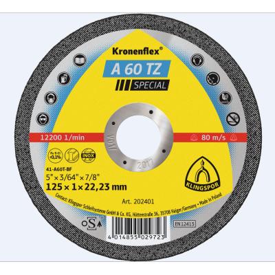 Klingspor Extra Inox Slitting Disc A60 TZ 115 x 1.0 x 22mm