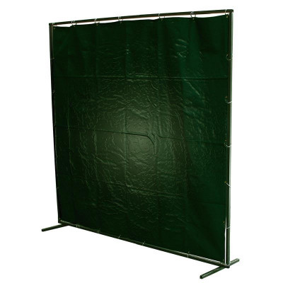PVC Mobile Welding Curtains Green